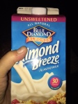 Almond milk is a great source of calcium
