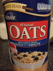 Quick oats cook faster and taste great