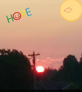 Every day brings hope, it's a brand new day!