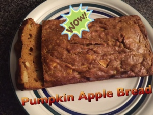 Clean Pumpkin Apple Bread that is Delicious!