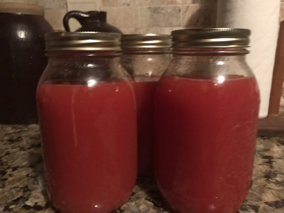 Canning Tomato Juice the Easy Way!